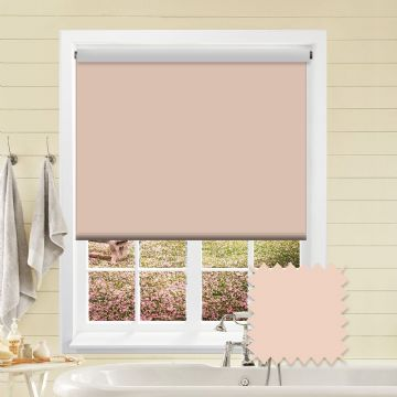 Blackout Roller Blind - Bermuda Peach Bloom